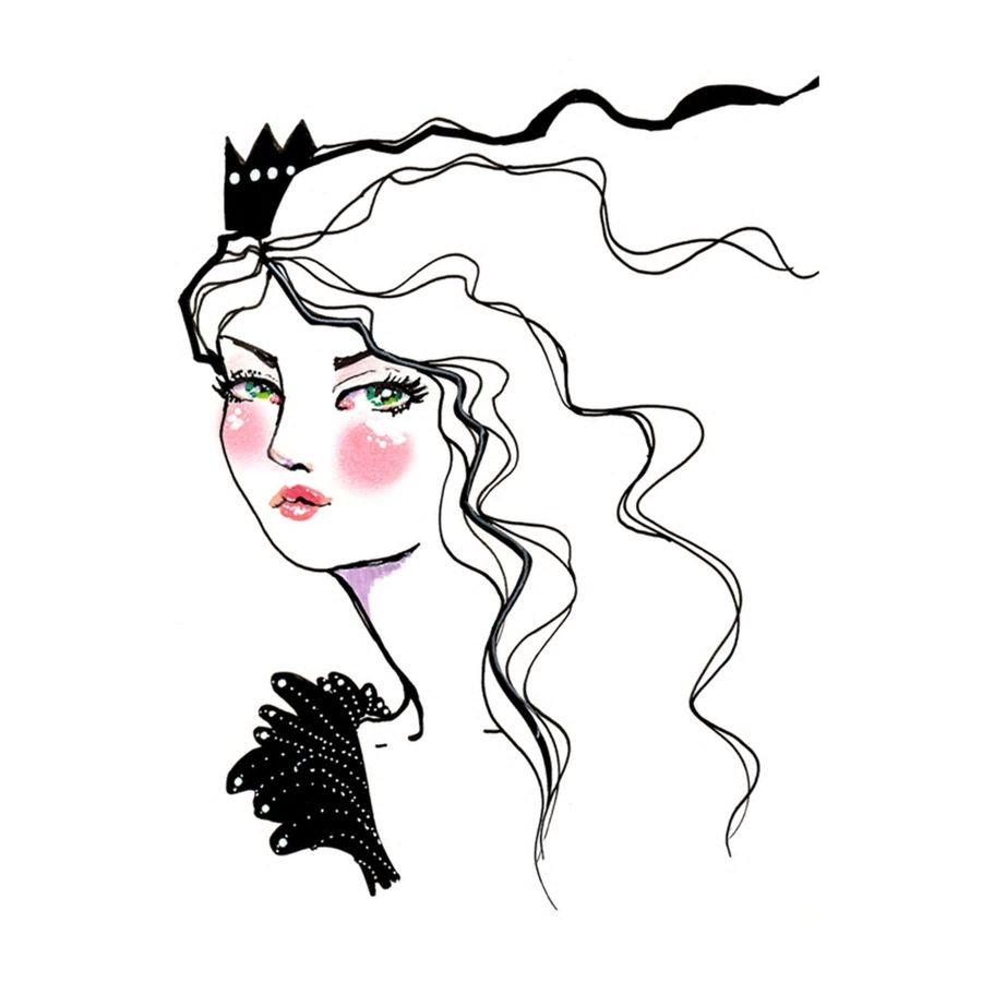 Jane Davenport - Storytime Collection - Storytime Paint Pens, Snow Queen